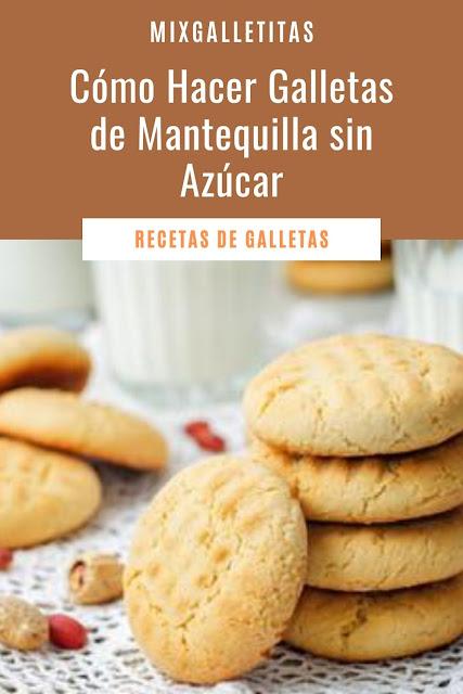 Cómo hacer galletas de mantequilla sin azucar