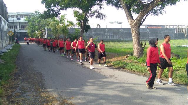 Lari Aerobik Untuk Membina Fisik Prajurit