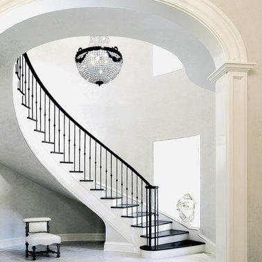 Desain Tangga Rumah Mewah Melingkar