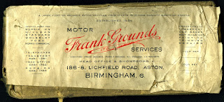 Frank Ground Ltd letterhead
