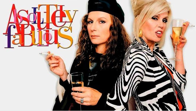 Christmas TV History: 1990s Christmas: Absolutely Fabulous