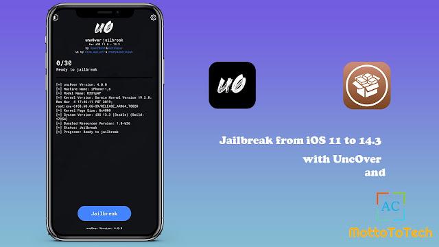 How To Unc0ver Jailbreak Download iOS 14 – 14.3 [PC/ Mobile]