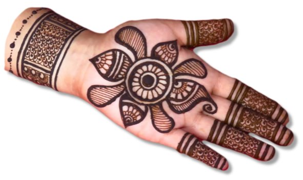 Traditional Wedding Mehndi Designs