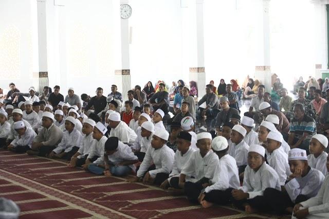 Upaya Wujudkan 1 Gampong 1 Hafidz, 100 Santri Perdana Dapat Beasiswa Program Thahfiz Quran