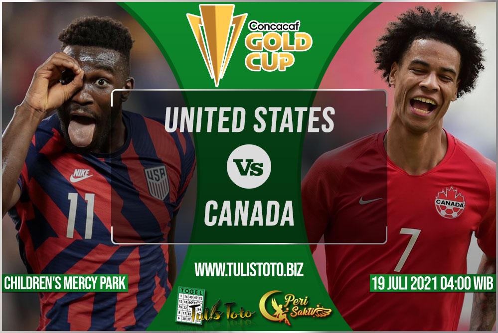Prediksi United States vs Canada 19 Juli 2021