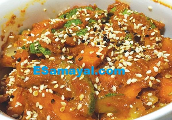 ஆசார் அவா(க்) வெஜிடபிள் ஊறுகாய் செய்முறை / Ashera (Q) Vegetable Pickle Recipe !