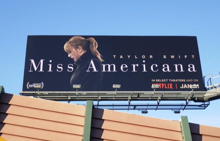 Taylor Swift Miss Americana Netflix documentary billboard