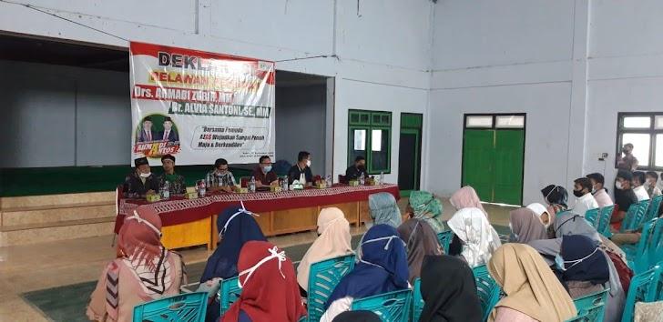 Gelar Deklarasi Relawan di Kampus, Ahmadi-Antos Jadi Sorotan