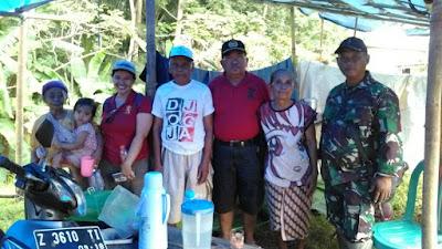 Koramil 16/Wanareja Terus Bantu Korban Banjir Tarisi
