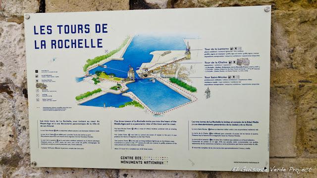 Les Tours de  La Rochelle, por El Guisante Verde Project
