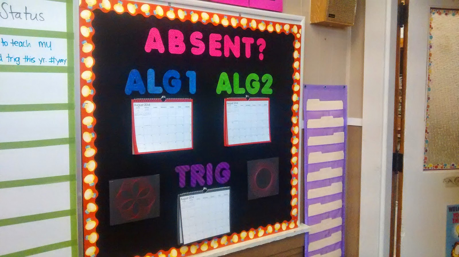 Classroom Decorating Ideas High School Math ~ Math love bulletin board ideas