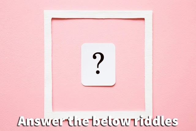 Riddles question and answer - IQ Test - Best puzzles games