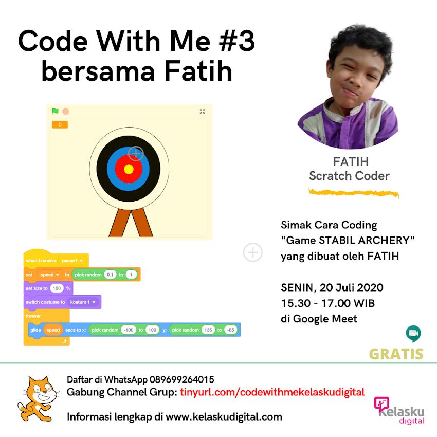 Code With Me #3 Bersama Fatih