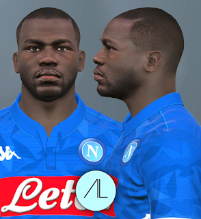 PES 2017 Faces Kalidou Koulibaly by Alief