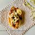Bruschetta di pane con cicale ed indivia brasata