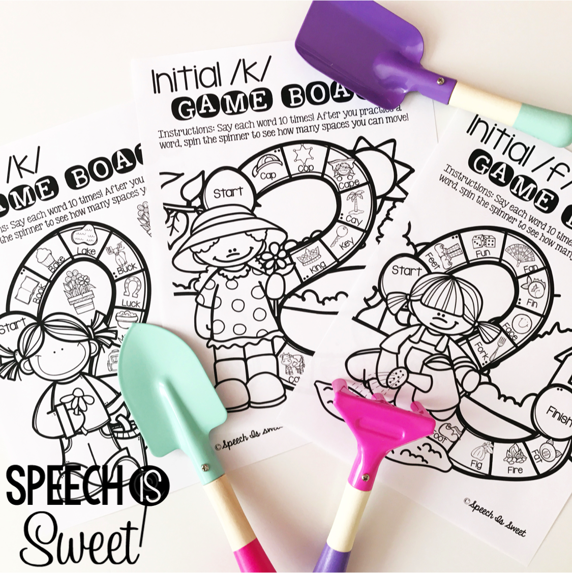 Speech Is Sweet Garden Theme In Speech Therapy