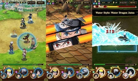 Halo sahabat para pecinta games android gratis Ultimate Ninja Blazing Mod Apk v2.17.1 Terbaru (High Damage+HP)