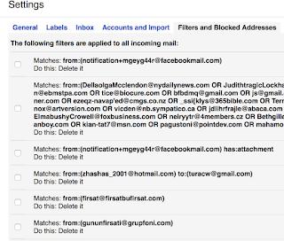 Gmail Üzerinde Mail Filtreleme Resimli Anlatım