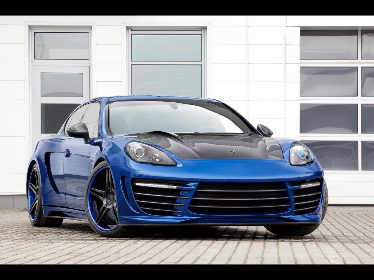 Cool Car 2012 TopCar Porsche Panamera Stingray GTR Hd Wallpapers | cartestimony