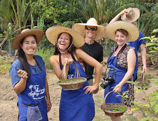 Thai Cooking School Garden Tour Photo