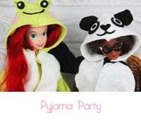 réaliser facilement un pyjama Kigurumi poupée