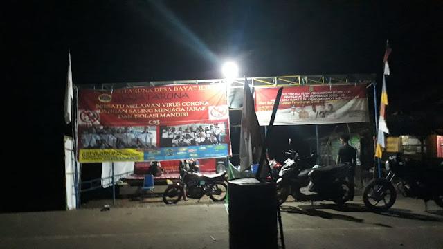 Kecamatan Bayung Lencir aktifkan Siskamling  Bahu Membahu Jaga Kampung