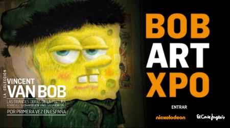 Exposición de Bob Esponja 'Bob Art Expo' en El Corte Inglés de San José de Valderas