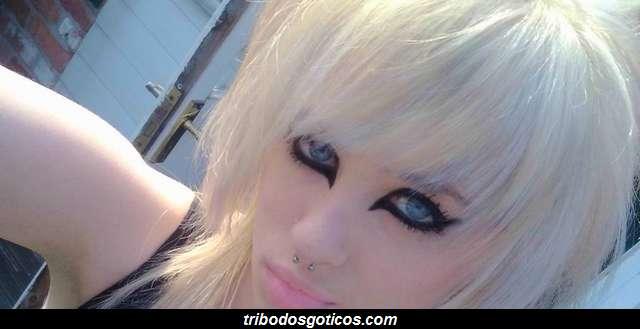 cabelo dos goticos pentiado estilo emo
