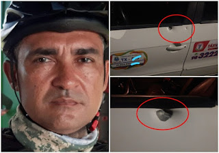 Sargento da PM é assassinado a tiros  em São Luís