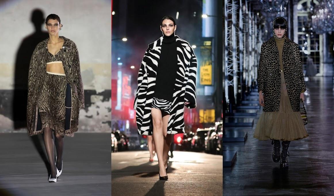 leopardato moda autunno inverno