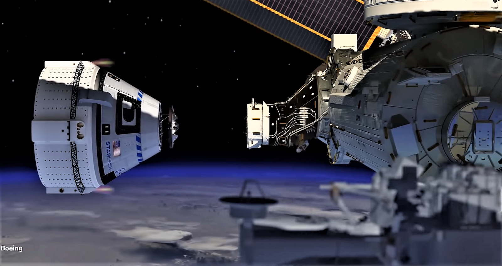Starliner spaceship will not be able to dock with the ISS and will return to Earth.