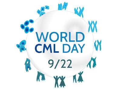World CML Day / Παγκόσμια Ημέρα Χρόνιας Μυελογενούς Λευχαιμίας