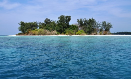 Mau Tahu Dimana Lokasi Pulau Opak Besar