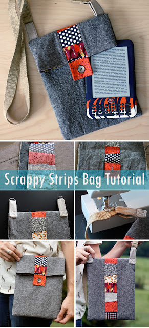 Scrappy Strips Bag Sewing Tutorial