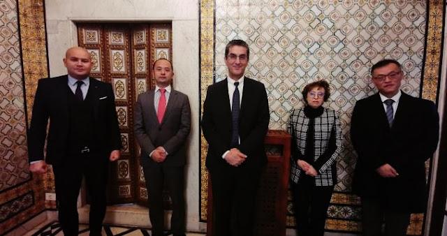 هواوي تتبرع لتونس بـأقنعة طبية واختبارات فحص وبعدد من أنظمة الفيديو عن بعد