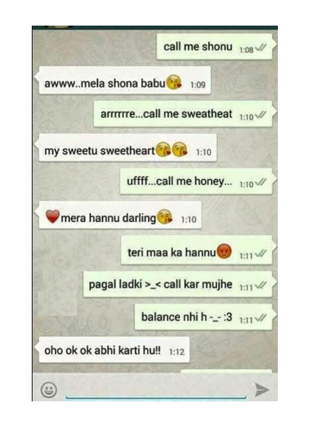 Dirty chat in hindi