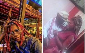 Photos of lady who was fingered on a live TV show by a relationship counsellor surfaces (video)