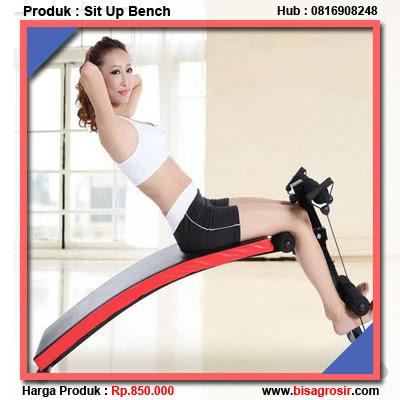 Alat Sit Up Bench Murah ALat Olahraga Pembentuk Otot Perut