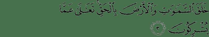 Surat An Nahl Ayat 3