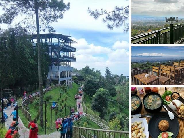Bukit Teropong Indah, Wisata Kuliner dengan View Instagramable di Lembang