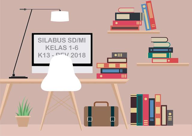 Gurune.net - Tidak di pungkiri salah satu file download yang paling banyak dicari oleh  guru SD/MI di awal tahun pelajaran adalah perangkat silabus.    Mengapa silabus sangat penting untuk pembelajaran  di setiap jenjang kelas?    Sebab silabus adalah garis besar, ringkasan ataupun pokok-pokok dari suatu materi pelajaran.    Silabus mencakup, materi, SK,KD, ID    Sobat guru SD/MI yang sedang mencari silabus Kurikulum 2013 Revisi 2018 bisa secara lengkap sobat guru download pada link download yang gurune.net buat di bawah ini.    Langsung saja ya sob, download silabus k-13 untuk SD/MI Hasil revisi 2018.    SILABUS SD/MI KELAS 1 K-13 REVISI 2018-DOWNLOAD    SILABUS SD/MIK ELAS 2 K-13 REVISI 2018-DOWNLOAD    SILABUS SD/MI KELAS 3 K-13 REVISI 2018-DOWNLOAD    SILABUS SD/MI KELAS 4 K-13 REVISI 2018-DOWNLOAD    SILABUS SD/MI KELAS 5 K-13 REVISI 2018-DOWNLOAD    SILABUS SD/MI KELAS 6 K-13 REVISI 2018-  DOWNLOAD      Setelah berhasil semuanya sobat download, cek dulu deh satu persatu.    Oya kemarin kan dah download RPP K-13 Revisi 2018 untuk Kelas 1-6.    Bagi yang belum..! langsung saja ke alamat link dibawah ini sob     Download RPP SD/MI K-13 Revisi 2018    Menemukan file download dengan pencarian organik memang sangat luar biasa.    Salah satunya silabus yang bisa didapatkan secara online.    Keyword #silabus menjadi salah satu keyword web dengan niche pendidikan yang sering di cari.    #silabus, #rpp
