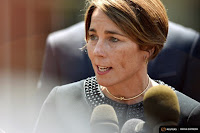 Massachusetts Attorney General Maura Healey stayed on the offensive in a legal battle with Exxon. (Credit: Reuters) Click to Enlarge.