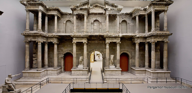 O Mercado de Mileto, no Museu Pergamon de Berlim