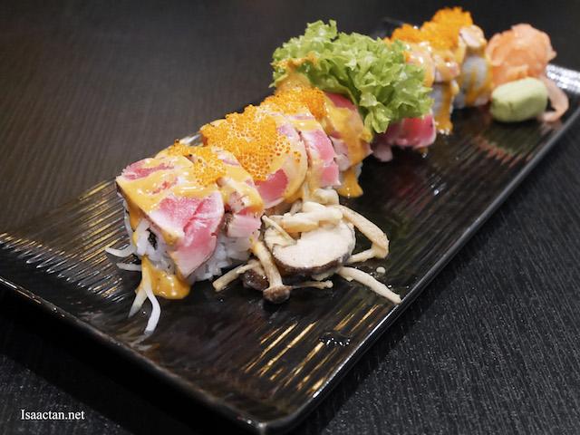 Tuna With Tom Yum Sauce Sushi - RM27.90