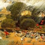 'Pluja (José Villegas Cordero)'