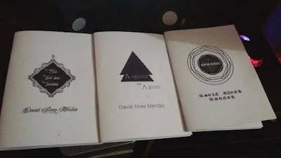 Livros da Coletânea Catarse Poética, Eis que sou poesia, Angústia de Agosto, Epifania