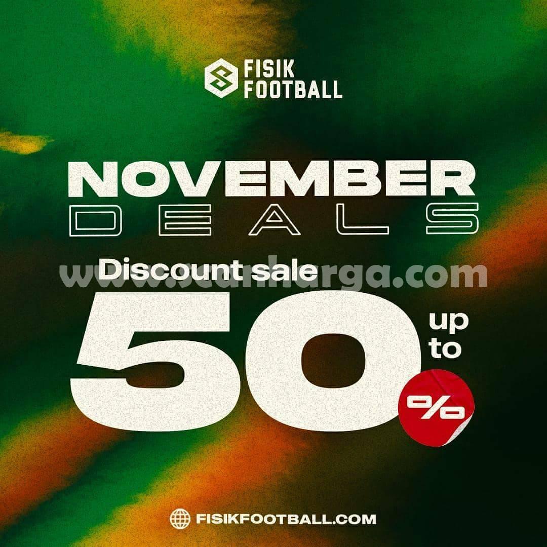 Promo Fisik Football Terbaru: November Deals Discount Sale up to 50%