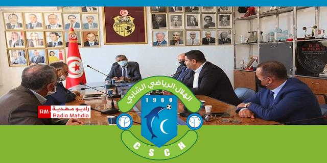 ملف هلال الشابة محور لقاء وزير الشباب والرياضة بعدد من رؤساء النوادي
