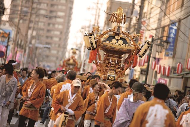 Hitachinaka Festival (summer fes.), Hitachinaka City, Ibaragi Pref.