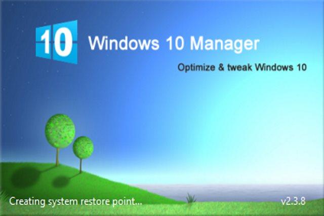 تحميل برنامج تنظيف وتسريع النظام Windows 10 Manager